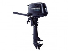 2017 Tohatsu 5 HP MFS5CL Outboard Motor