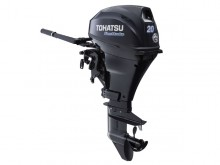 2017 Tohatsu 20 HP MFS20DEFTS Outboard Motor (Power Tilt)